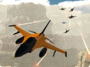 Orange Jet Fighter - cykel spel - bil spel
