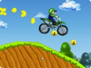 Luigi Motorcross - Bike Games - Car Games