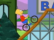 The Simpsons Bmx Game - cykel spel - bil spel