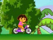Dora Ride Bike Game