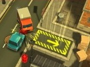 Delivery Dash Toon 3D - jeux de parking - jeux de voiture