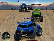 Monster Truck Rally - bil racingspel - bil spel