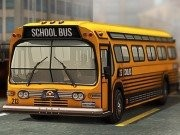 3D Parking Game School Bus Mania