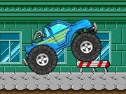 Bigfoot Monster Truck - bil racingspel - bil spel