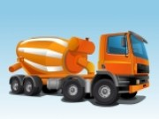 Cement Truck Parking - Car Parking Games - Car Games