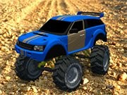 Monster Truck Rally 3D - auto race spelletjes - auto spelletjes