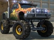Monster Trucks 3D Parking Game