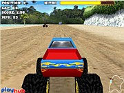 Monster Race 3D - bil racingspel - bil spel
