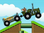 Tom en Jerry Tractor - auto race spelletjes - auto spelletjes