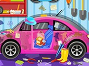 Clean My Pink Car 3 - Other Games - bil spel