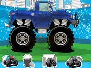 Monster Truck Wash Och Reparation - Other Games - bil spel