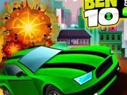 Ben 10 Bolt Car Game - auto race spelletjes - auto spelletjes