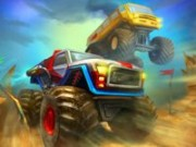 Monster Wheels 2 - auto race spelletjes - auto spelletjes