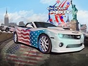4th Of July parkering - bil parkering spel - bil spel
