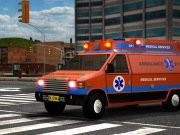 Emergency Van 3D Parking Game