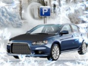 Park In The Snow - jeux de parking - jeux de voiture