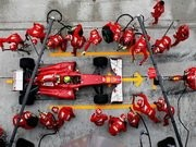Ferrari Team F1 Puzzle Game
