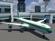 Modern Aircraft 3D Parking Game