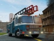 Fire Fighting Frenzy Parkering - bil parkering spel - bil spel