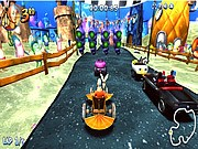 Nick Racers Revolution - auto race spelletjes - auto spelletjes