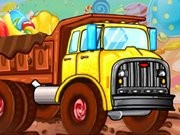 Candy Land Transports Game