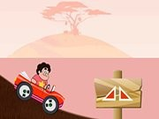 Steven Universe Car Race Game