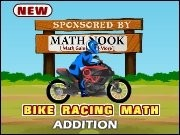 Bike Racing Addition Game