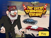Gravity Falls - The Great Escape Stanmobile - auto race spelletjes - auto spelletjes