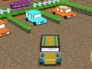 Minecraft Mega Parking - jeux de parking - jeux de voiture