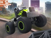 Monster Truck Ultimate Playground - bil racingspel - bil spel