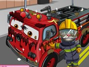 Tom Wash Fire Truck - Other Games - bil spel