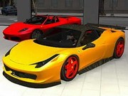 Ferrari Bil Minne - Other Games - bil spel