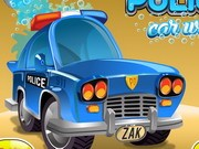 Police Car Wash - Other Games - auto spelletjes