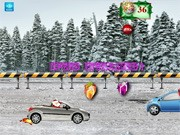 Santa Claus Save The Christmas - bil racingspel - bil spel
