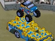 Monster Jam Mega Air Jump -  Games - bil spel