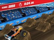 Monster Jam Ultimate Stunt Jumper - lastbil spel - bil spel