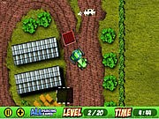 Tracteur Parking - jeux de parking - jeux de voiture