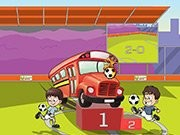 Euro Football Parking bus - jeux de parking - jeux de voiture
