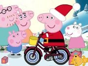 Peppa Pig Christmas Delivery - Bike Games - Car Games