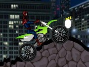 Spiderman Bike Challenge - jeux de moto - jeux de voiture