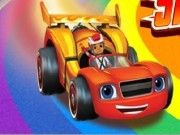 Blaze And The Monster Machines : Race the Skytrack Game