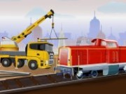 Railroad Crane Parking 2 Game