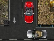Red Cabrio Parking - jeux de parking - jeux de voiture