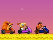Crash Kart Game