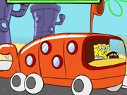 Spongebob bus Express - auto race spelletjes - auto spelletjes