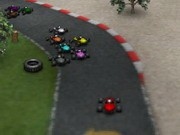 Red Kart Racer - Car Racing Games - Car Games