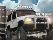Jeep City Parking - Parkplatz Spiele - Auto-Spiele