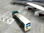 Garer 3D: Bus de l'aéroport - jeux de parking - jeux de voiture