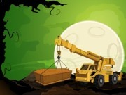 Graveyard Crane Parking - Car Parking Games - Car Games