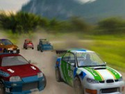 Turbo rally - bil racingspel - bil spel